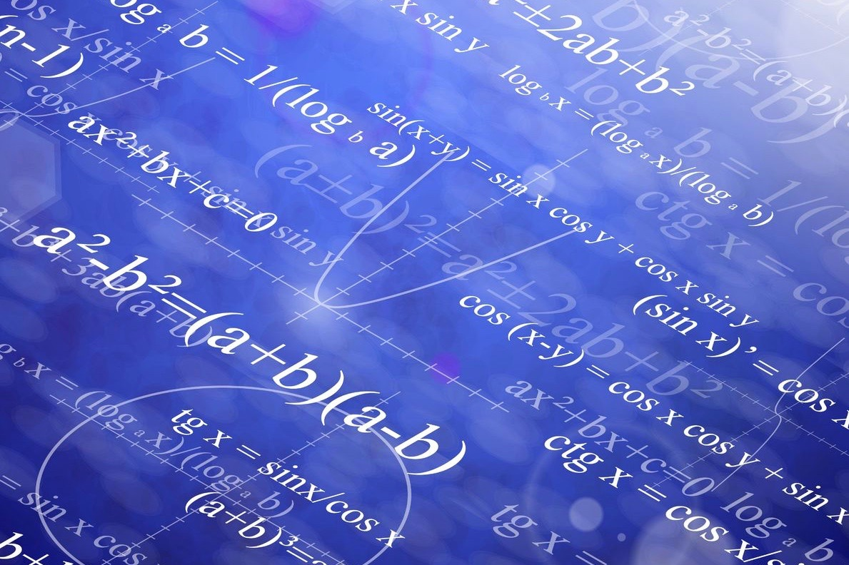 13186931 - background with mathematical formulas